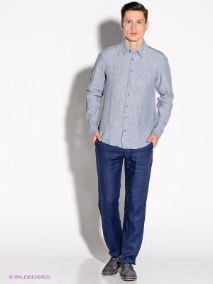 Рубашка Alfred Muller. Цвет: серо-голубой