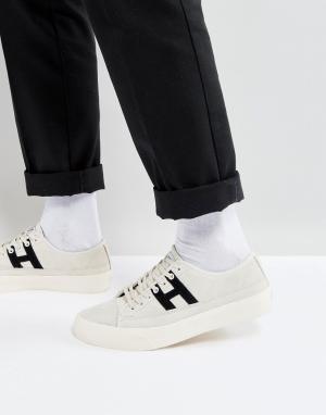 HUF Белые низкие кроссовки Hupper 2. Цвет: белый