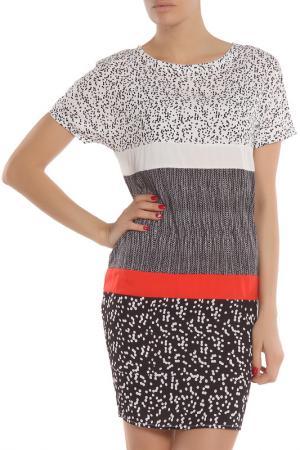 Летнее повседневное платье Tom Farr. Цвет: черный