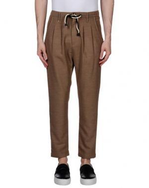 Повседневные брюки BERNA. Цвет: хаки
