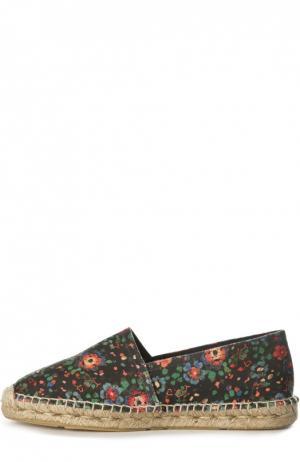 Текстильные эспадрильи с принтом Isabel Marant Etoile. Цвет: разноцветный