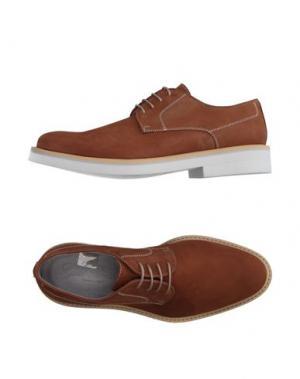 Обувь на шнурках GOLD BROTHERS. Цвет: коричневый