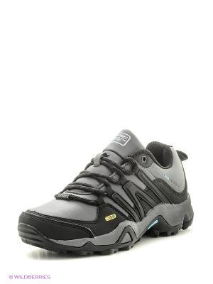 Кроссовки STROBBS. Цвет: серый, черный