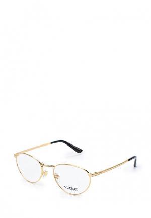Оправа Vogue® Eyewear. Цвет: золотой
