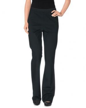 Повседневные брюки 1-ONE. Цвет: темно-зеленый