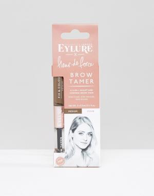 Eylure Щеточка для бровей Fleur de Force x. Цвет: коричневый