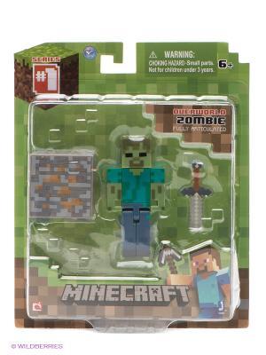 Фигурка Зомби Minecraft. Цвет: серый