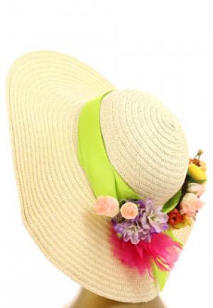 Шляпа BLUGIRL. Цвет: зеленый