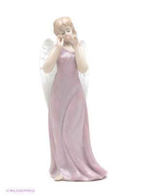 Фигурка Ангел Pavone. Цвет: бледно-розовый, бежевый