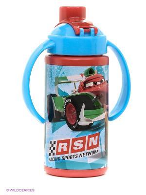 Бутылка спортивная с ручками Тачки Stor. Цвет: голубой, красный