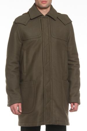 Пальто GF FERRE. Цвет: зеленый