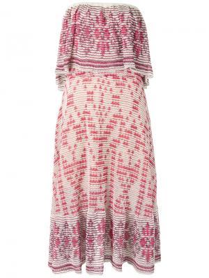 Knit midi dress Cecilia Prado. Цвет: красный