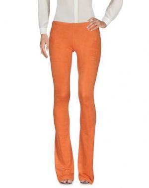 Повседневные брюки MARIAGRAZIA PANIZZI. Цвет: оранжевый