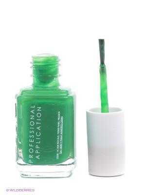 Лак для ногтей 3014 ТАНЦУЙ, ДЕТКА! SHAKE YOUR $$ MAKER Essie Professional. Цвет: зеленый