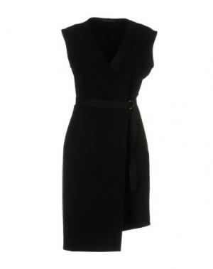 Короткое платье SOALLURE. Цвет: черный