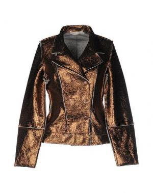 Пиджак MONICA •LENDINEZ. Цвет: бронзовый