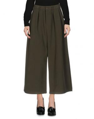 Повседневные брюки HIDDEN FOREST MARKET. Цвет: зеленый-милитари