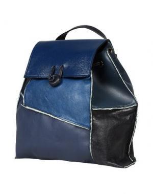 Рюкзаки и сумки на пояс CARMINA CAMPUS. Цвет: грифельно-синий