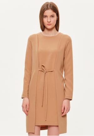 Платье Base Forms. Цвет: бежевый