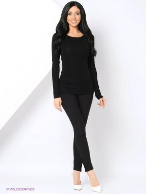 Блузка THEMACCA. Цвет: черный