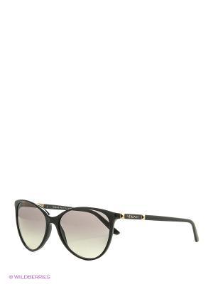 Очки солнцезащитные 0VE4260-GB1/11 Versace. Цвет: черный