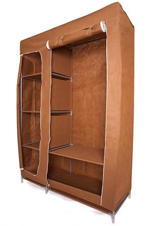 Тканевый шкаф HOMSU. Цвет: коричневый