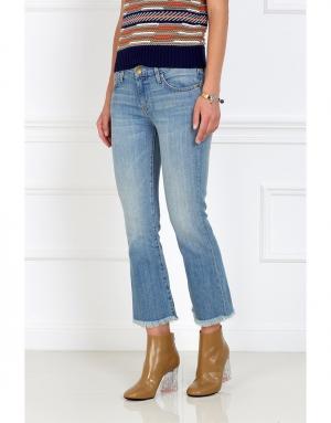 Расклешенные джинсы Current/Elliott. Цвет: голубой