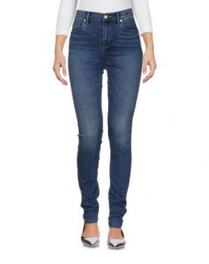Джинсовые брюки JUICY COUTURE. Цвет: синий