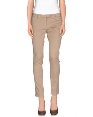 Повседневные брюки MANUEL RITZ. Цвет: песочный