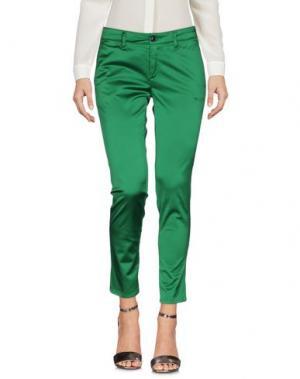 Повседневные брюки DEPARTMENT 5. Цвет: зеленый