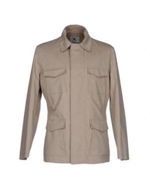Легкое пальто KIRED. Цвет: песочный