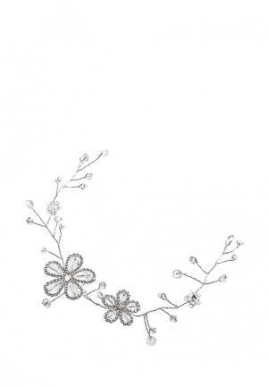 Ободок Kameo-Bis. Цвет: серебряный