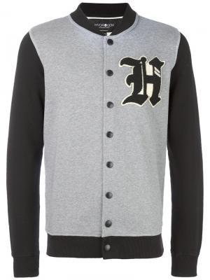 Куртка-бомбер Hydrogen. Цвет: серый