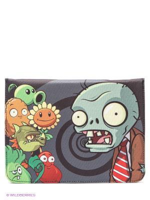 Чехол для планшета Растения против Зомби 2 Plants vs Zombie. Цвет: серый