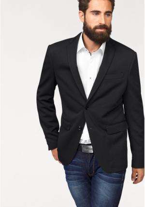 Пиджак BRUNO BANANI. Цвет: темно-синий фактурный