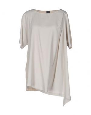 Блузка LORENA ANTONIAZZI. Цвет: бежевый