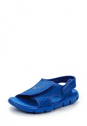 Сандалии Nike. Цвет: синий