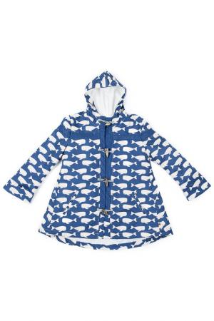 Пальто La Miniatura. Цвет: синий