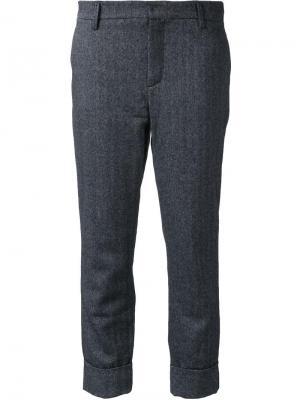 Укороченные брюки Stewart Closed. Цвет: серый