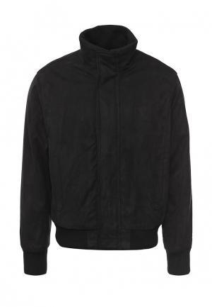 Куртка утепленная Vanzeer. Цвет: черный