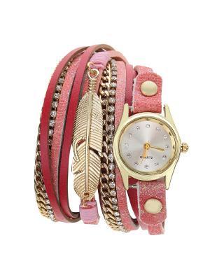 Браслет-часы Olere. Цвет: золотистый, красный, розовый
