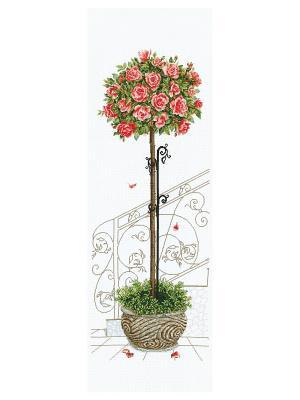 Набор для вышивания Розовое дерево Сделай своими руками. Цвет: белый