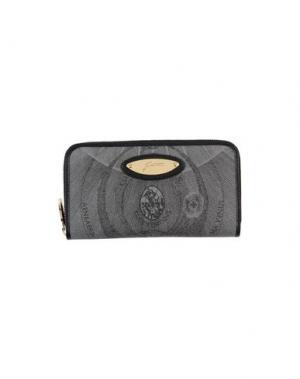 Бумажник GATTINONI. Цвет: серый