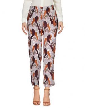 Повседневные брюки DIXIE. Цвет: коричневый