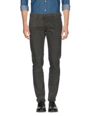 Повседневные брюки MASSIMO REBECCHI. Цвет: темно-зеленый