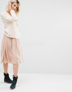 Gat Rimon Светло-розовая юбка Topaz. Цвет: розовый