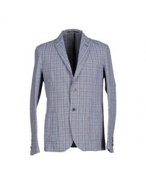 Пиджак EXIBIT. Цвет: серый