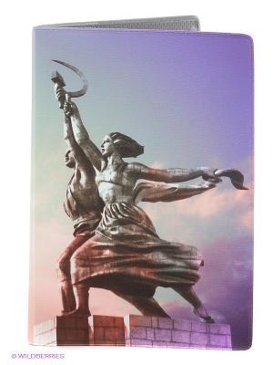 Обложка для автодокументов Mitya Veselkov. Цвет: фиолетовый