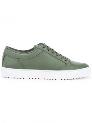 Прорезиненные кроссовки Etq.. Цвет: зелёный