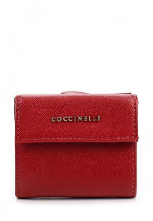 Кошелек Coccinelle. Цвет: бордовый